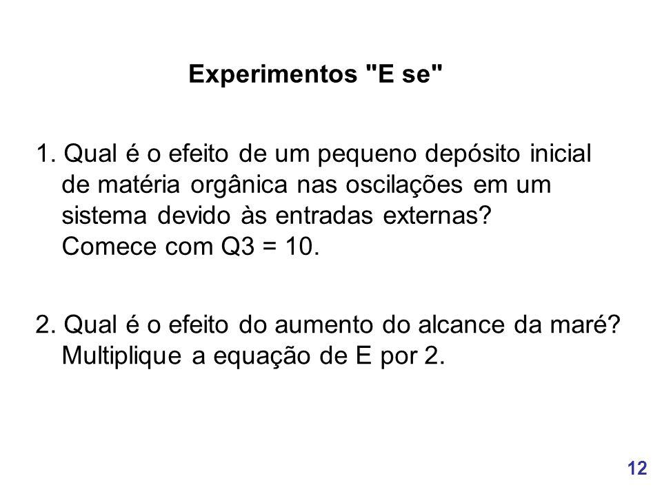 12 Experimentos E se 1.
