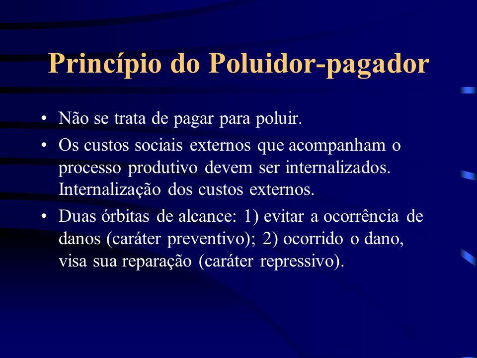 Princípio da Máxima Proteção Considera-se que o meio ambiente é um direito fundamental, devendo, por isso, ser preservado para presentes e futuras ger
