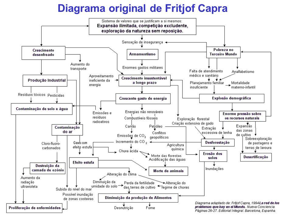 Diagrama original de Fritjof Capra