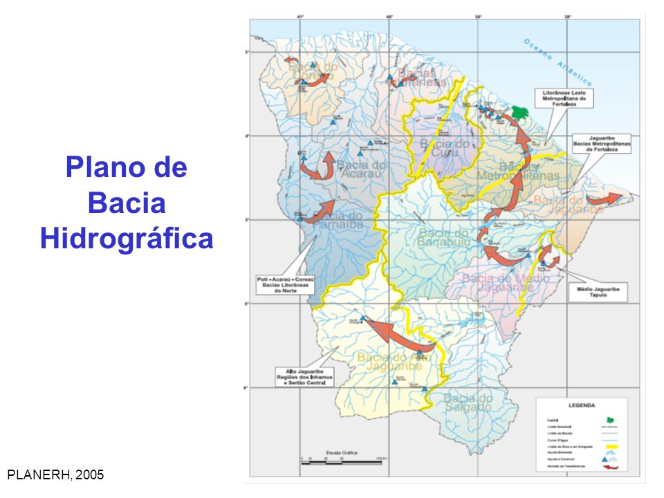 Plano de Bacia Hidrográfica PLANERH, 2005