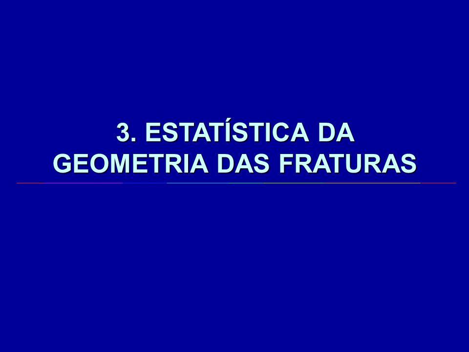 3. ESTATÍSTICA DA GEOMETRIA DAS FRATURAS