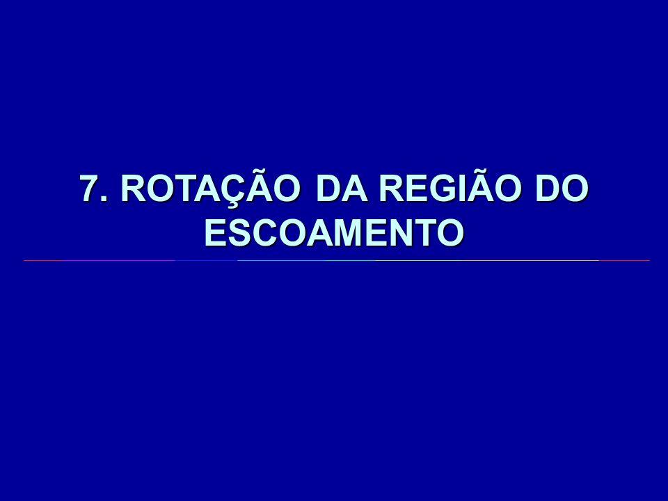 7. ROTAÇÃO DA REGIÃO DO ESCOAMENTO