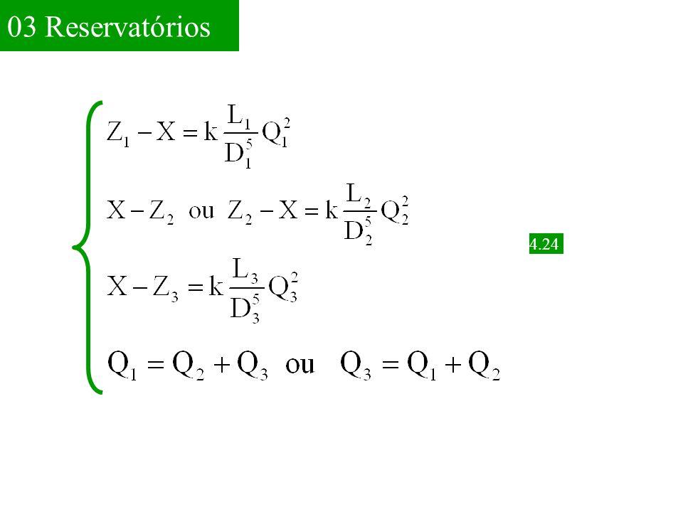 Exemplo 4.4 Aplicando a E.Q.