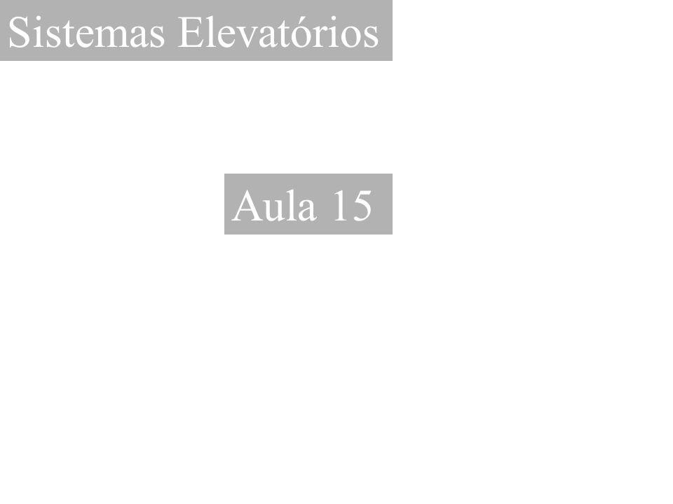 Sistemas Elevatórios Aula 15