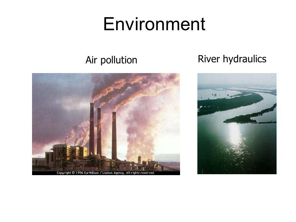 Environment Air pollution River hydraulics