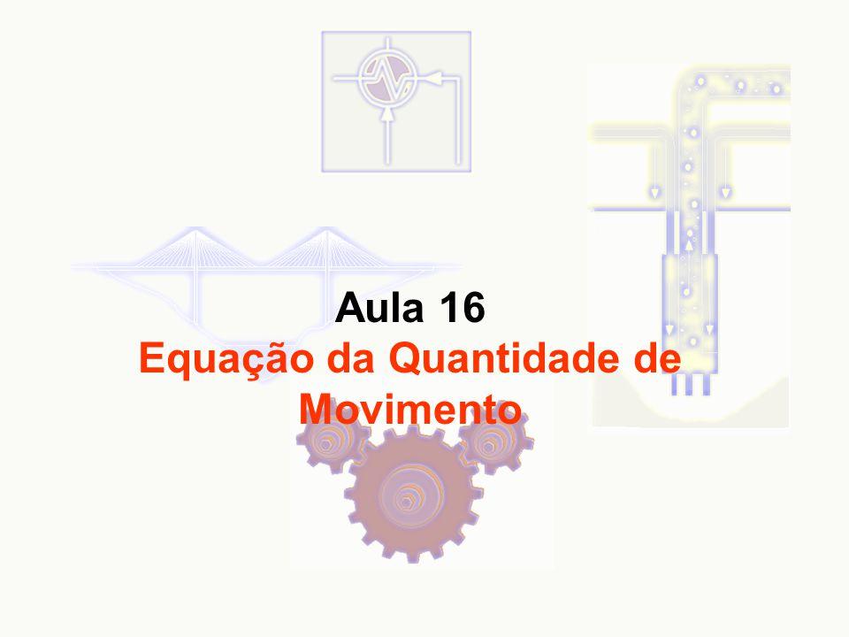 Aula 16 Equação da Quantidade de Movimento