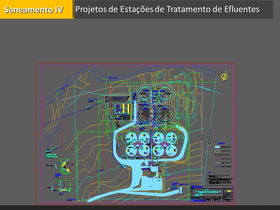 Projetos de Estações de Tratamento de Efluentes