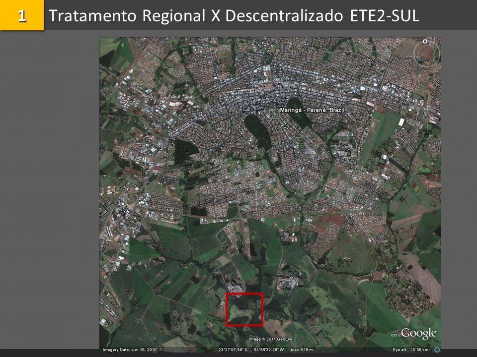 Tratamento Regional X Descentralizado ETE2-SUL11