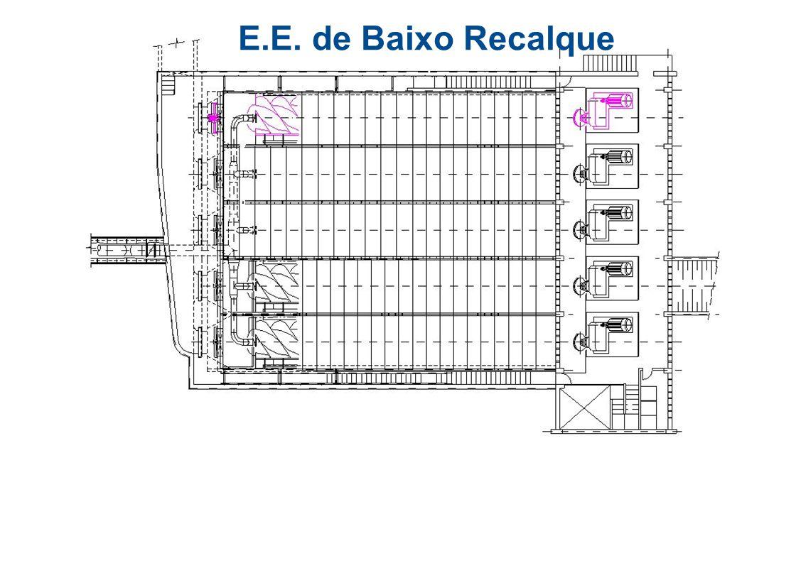 Dados Projeto - Bomba Parafuso Tem como função elevar o esgoto gradeado para a desarenação, peneiramento e alto recalque.  Altura de elevação:8,5 m 