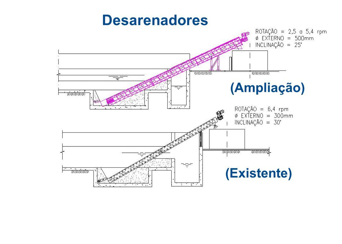 Desarenadores (Ampliação)