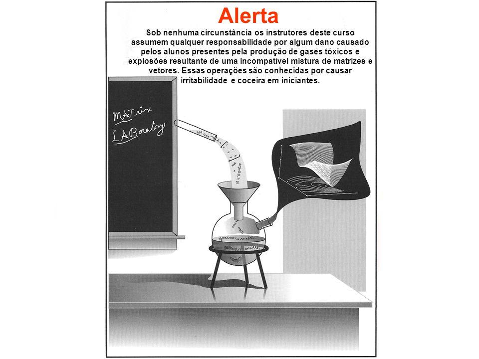 Alerta Sob nenhuma circunstância os instrutores deste curso assumem qualquer responsabilidade por algum dano causado pelos alunos presentes pela produ