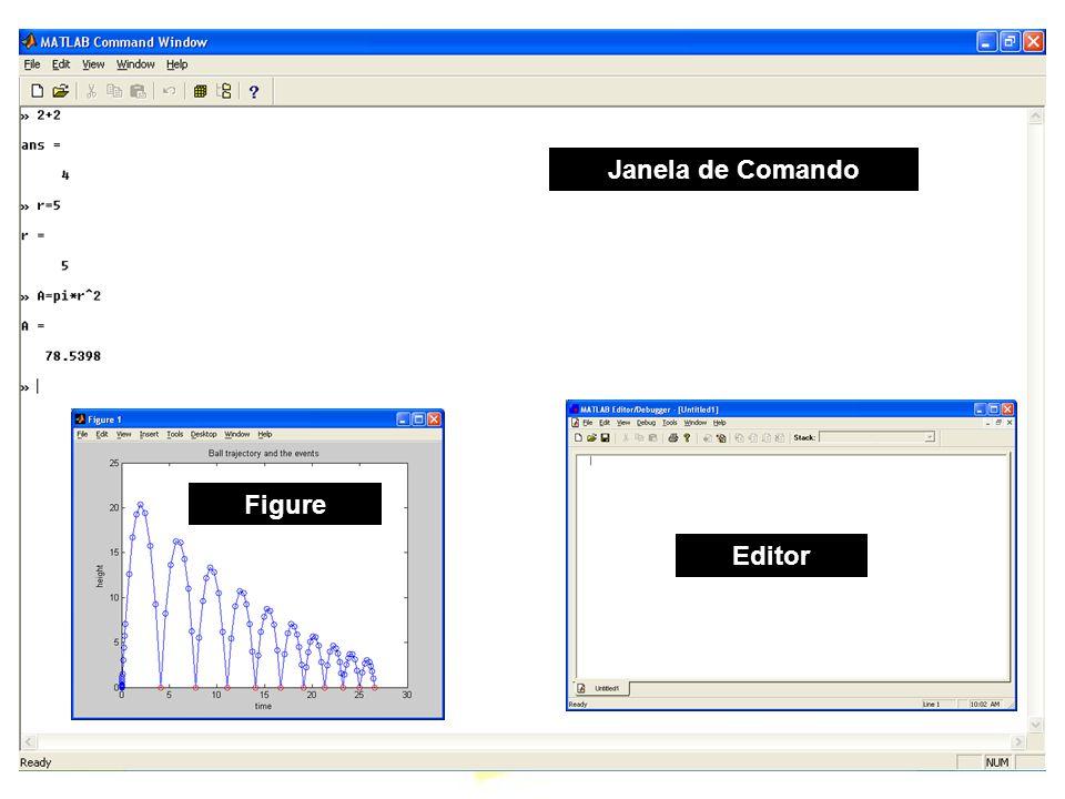 Apresentação Informações gerais –computer: mostra o tipo de plataforma usada –clock: dá a hora e data como um vetor –date: dá a data como um string.
