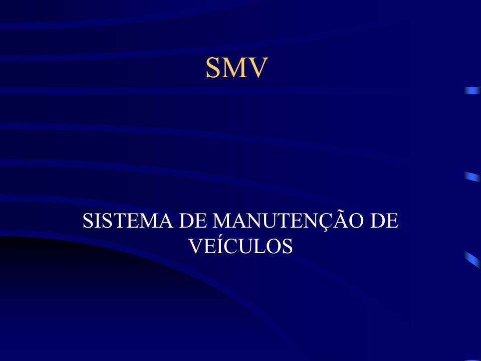 SMV SISTEMA DE MANUTENÇÃO DE VEÍCULOS