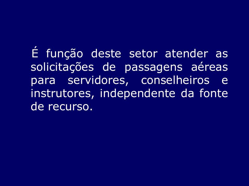 DAS SOLICITAÇÕES Para efetuar o pagamento, devem obedecer aos seguintes trâmites e orientações: Por meio de formulário próprio de pedido de passagem (anexo) com o preenchimento obrigatório dos campos; 1.