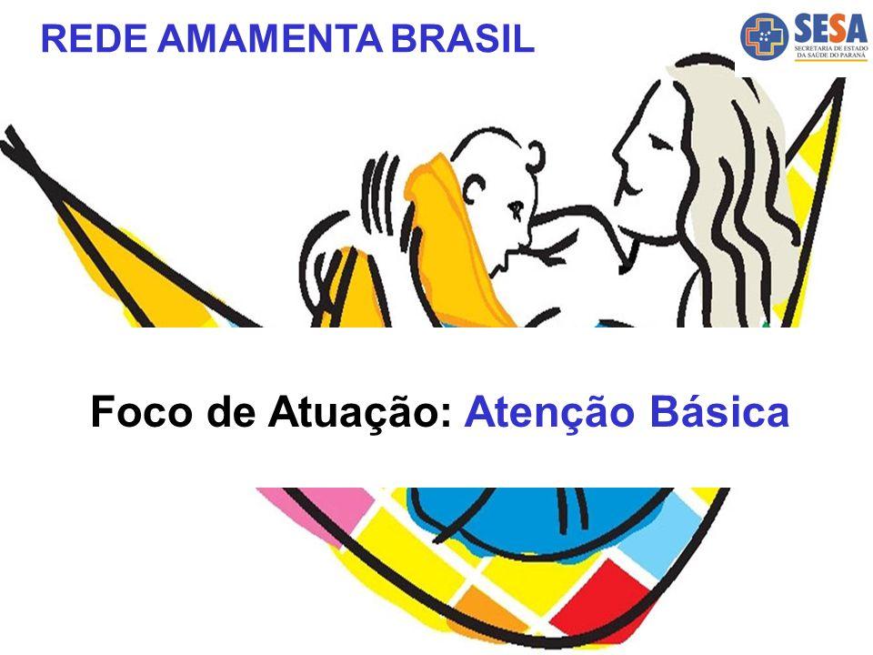 Foco de Atuação: Atenção Básica REDE AMAMENTA BRASIL
