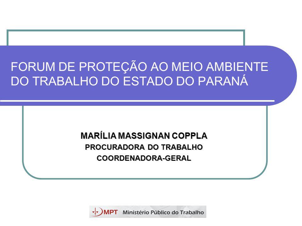 MEIO AMBIENTE DO TRABALHO Tutela pelo Estado – MPT, MTb...
