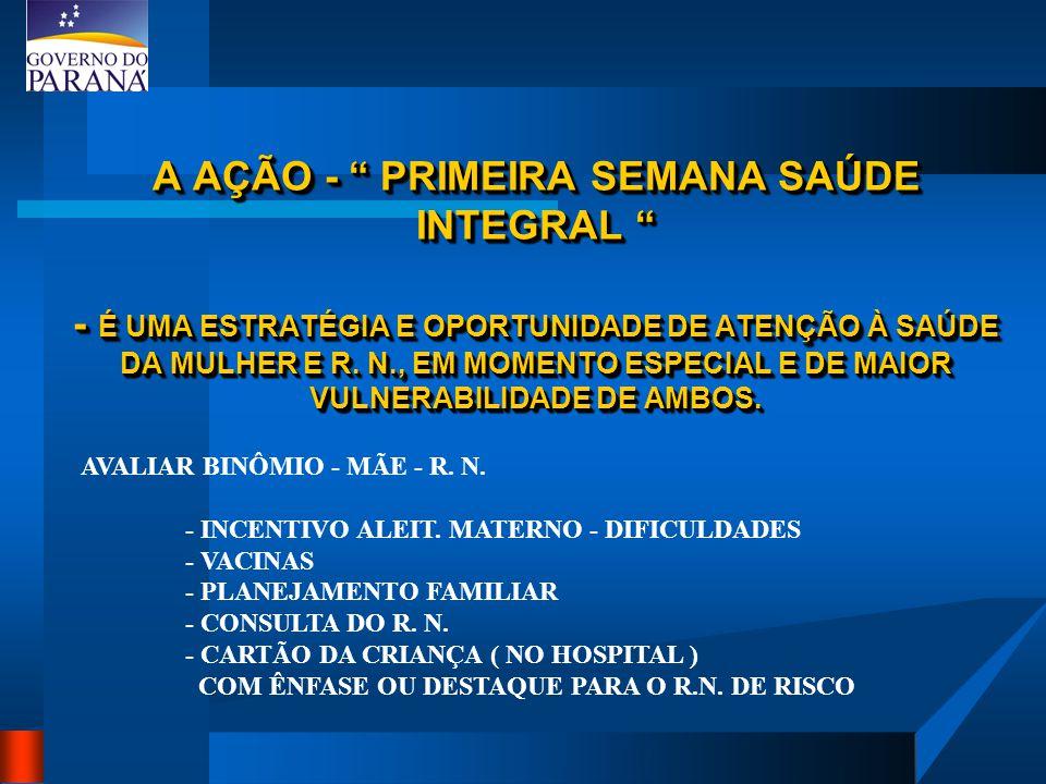 INCENTIVO E QUALIFICAÇÃO DO ACOMPANHAMENTO DO CRESCIMENTO E DESENVOLVIMENTO ( CD) - CARTÃO DA CRIANÇA NA MATERNIDADE - BUSCA ATIVA DE CRIAÇAS FALTOSAS E DE RISCO