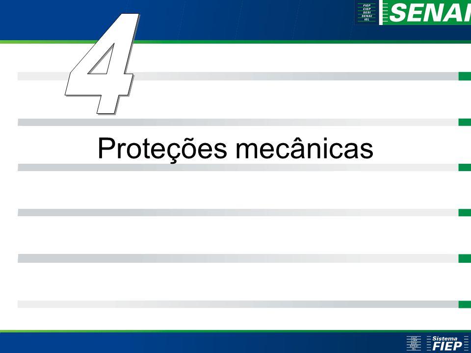 Clique para editar o estilo do título mestre Clique para editar os estilos do texto mestre Segundo nível Terceiro nível Quarto nível Quinto nível 40 Clique para editar o estilo do título mestre Clique para editar os estilos do texto mestre Segundo nível Terceiro nível Quarto nível Quinto nível 40 Proteções mecânicas