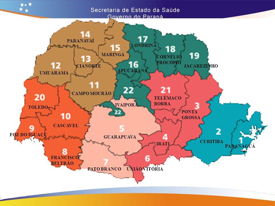 Recebimento e Distribuição  O Cemepar – Centro de Medicamentos do Paraná, recebe trimestralmente medicamentos tuberculostáticos do MS, após programação anual, baseado no nº de casos do SINAN  RS – SCINS – Seção de Insumos  Trimestralmente condensa os Mapas de Programação dos municípios  Envia ao Cemepar Mapa condensado