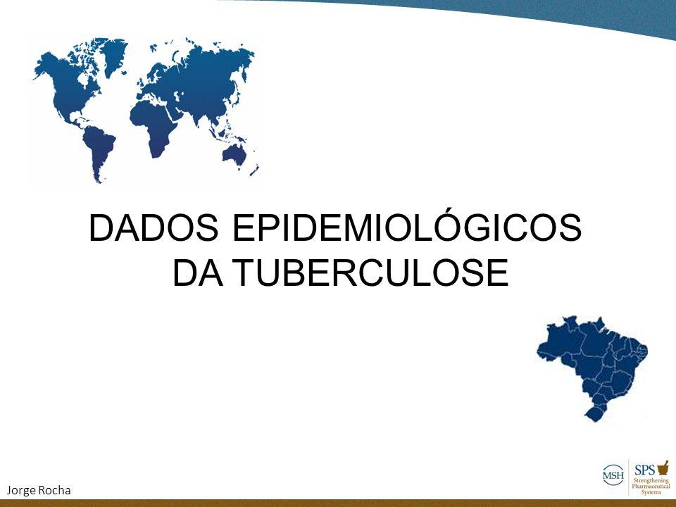 1/3 população mundial infectada 8 milhões de casos novos 2 milhões de mortes Cada pessoa doente infecta 10 á 15 pessoas por ano 5 a 10% ficarão doentes durante a vida