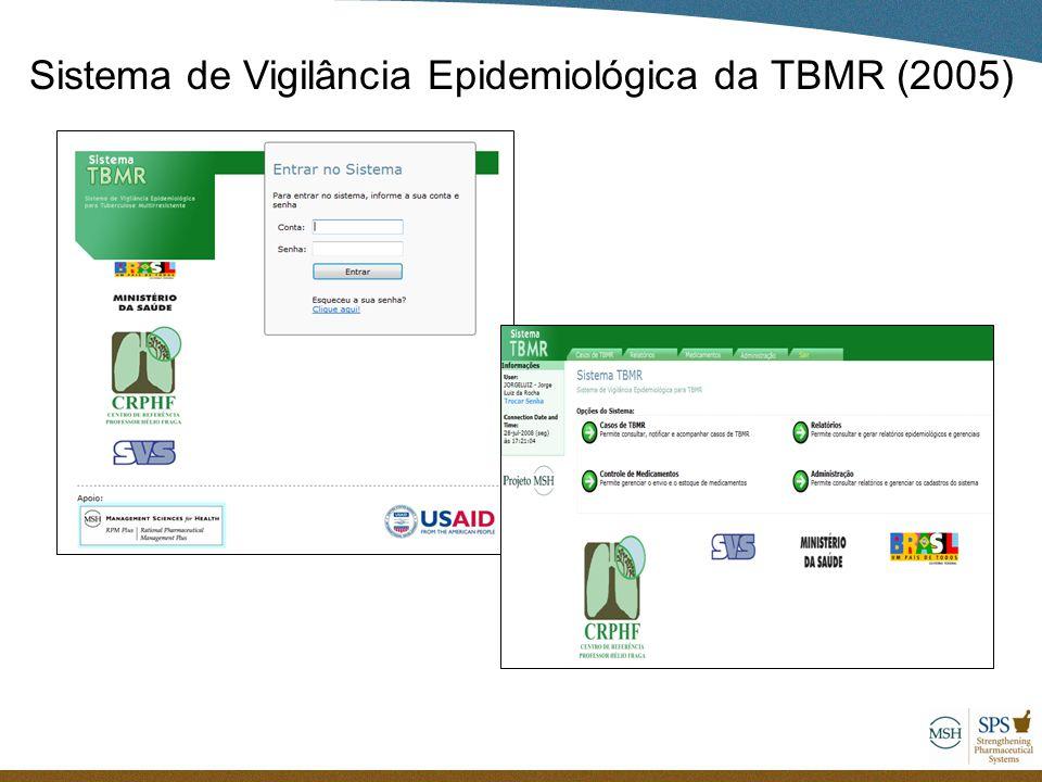Sistema de Vigilância Epidemiológica da TBMR (2005)