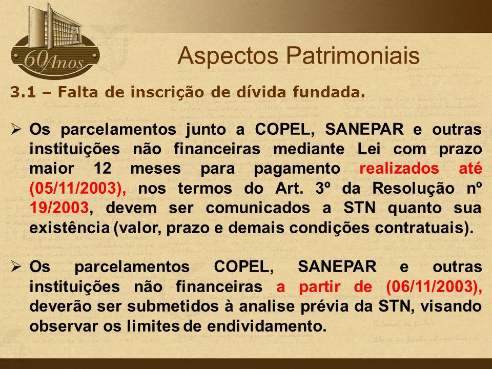 Outros Aspectos Instrução Normativa n.11/2007-TC Art.