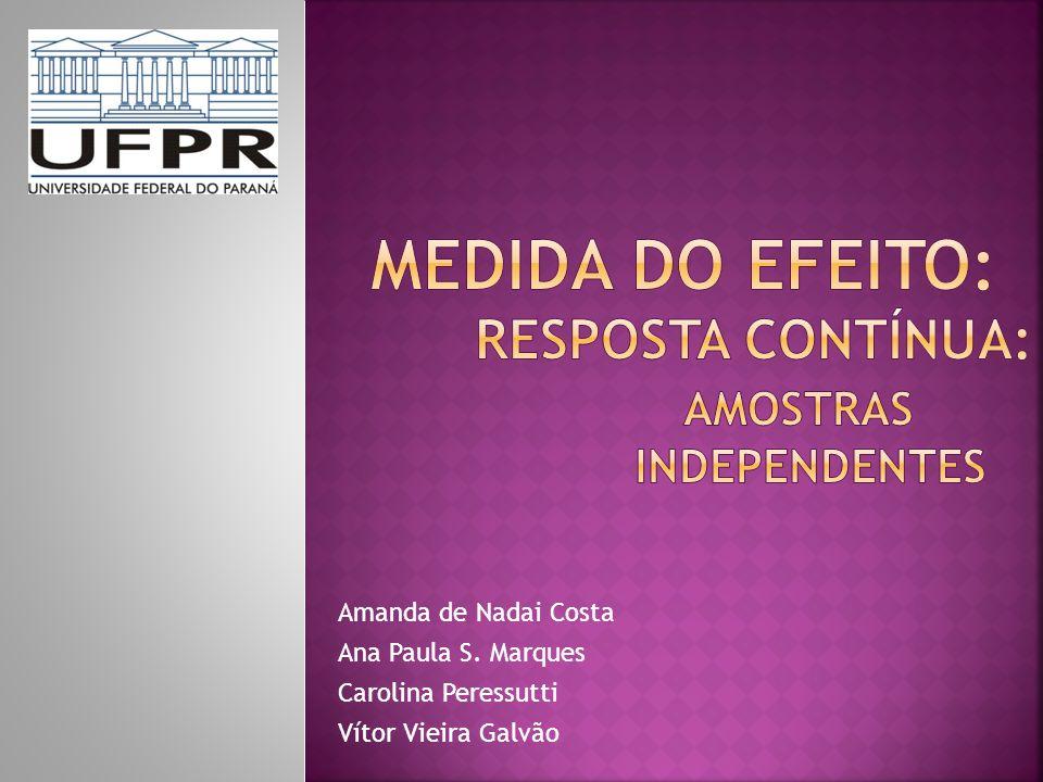 Amanda de Nadai Costa Ana Paula S. Marques Carolina Peressutti Vítor Vieira Galvão