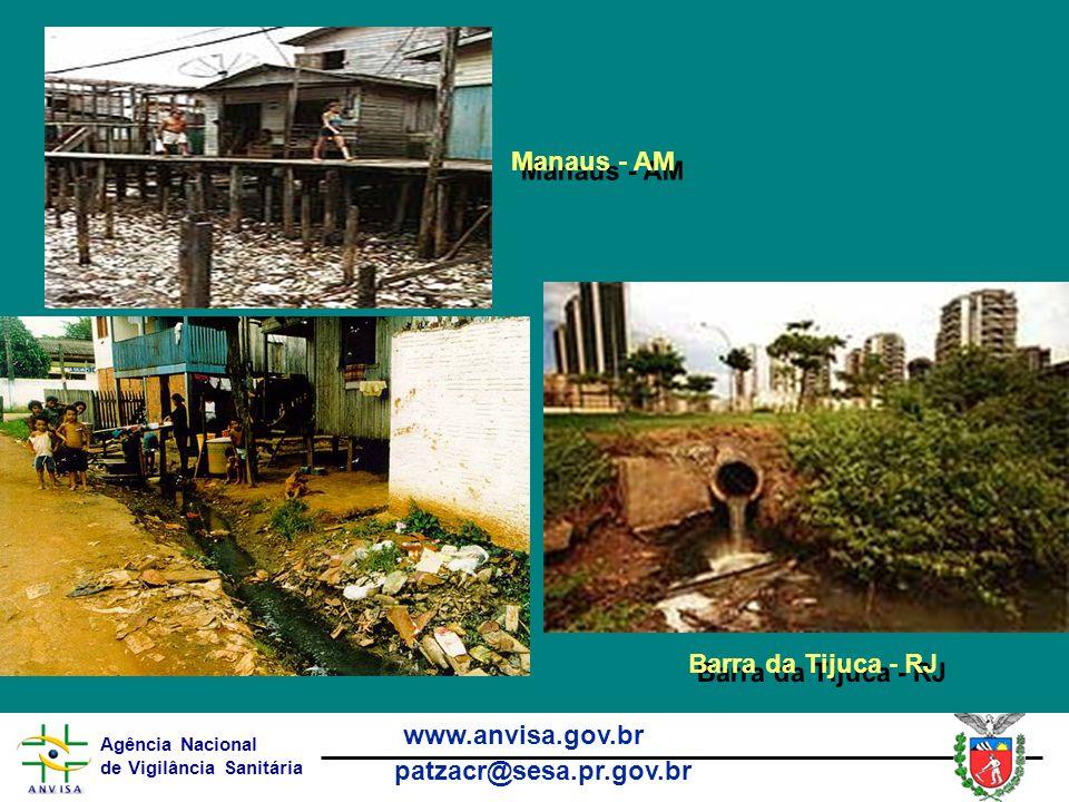 Agência Nacional de Vigilância Sanitária www.anvisa.gov.br patzacr@sesa.pr.gov.br Manaus - AM Barra da Tijuca - RJ