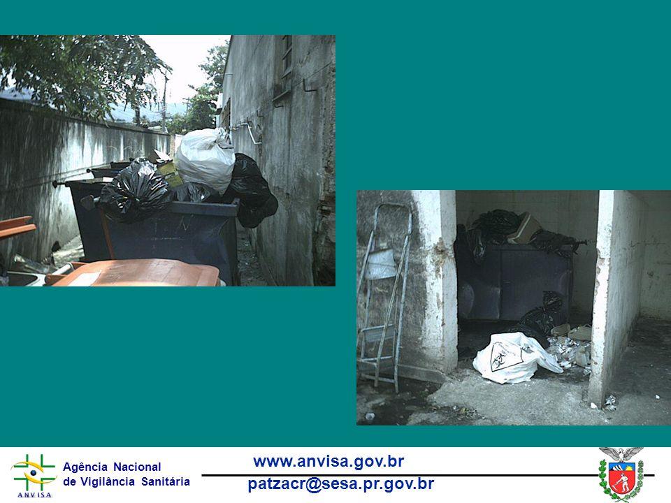 Agência Nacional de Vigilância Sanitária www.anvisa.gov.br patzacr@sesa.pr.gov.br