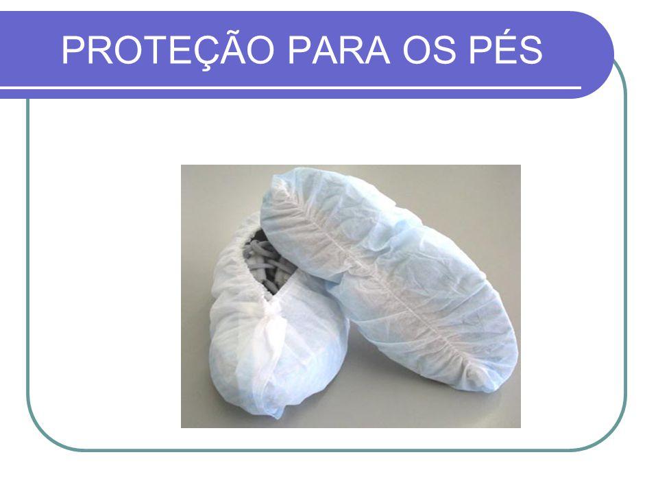 PROTEÇÃO PARA OS PÉS