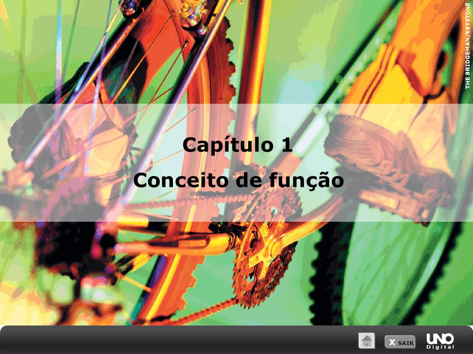 X SAIR THE BRIDGEMAN/KEYSTONE Capítulo 1 Conceito de função