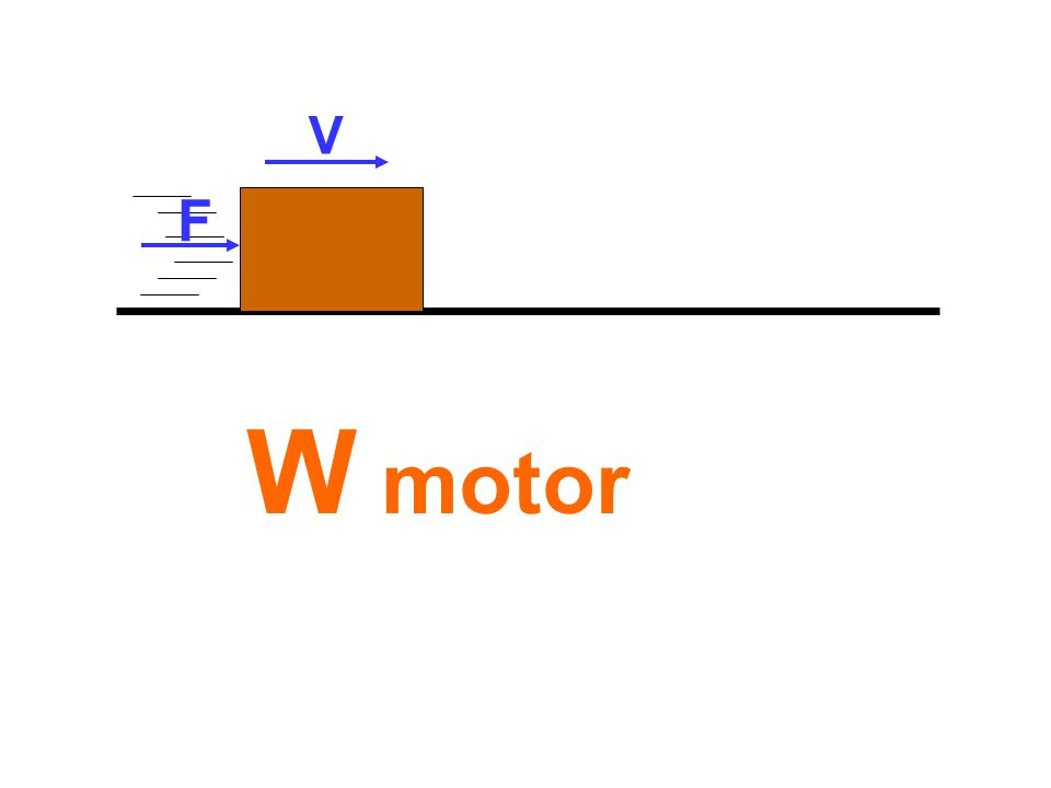 W motor V F