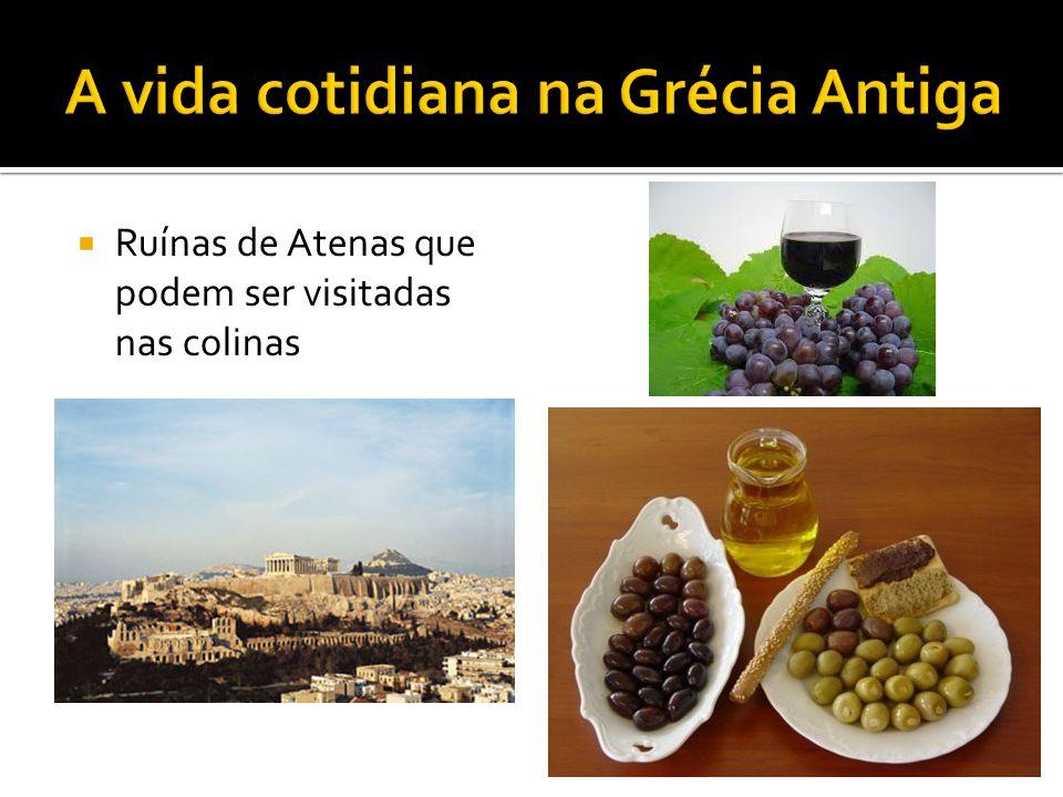  Ruínas de Atenas que podem ser visitadas nas colinas