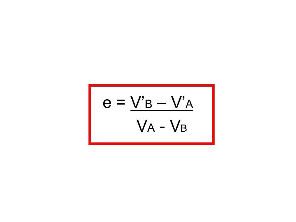 e = V' B – V' A V A - V B