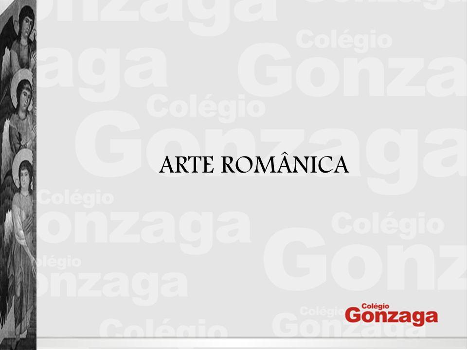 A designação Românico é uma convenção do século XIX e significa semelhante ao Romano .