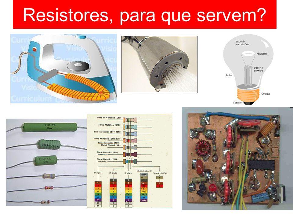 Resistores, para que servem?