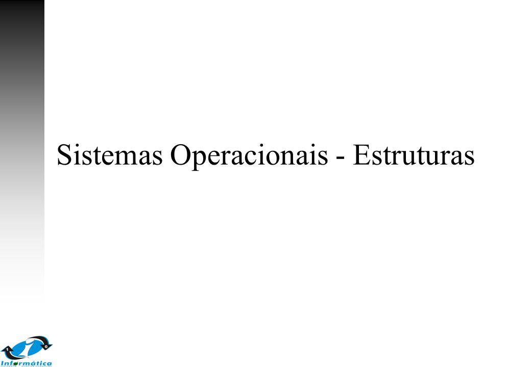 Sistemas Operacionais - Estruturas