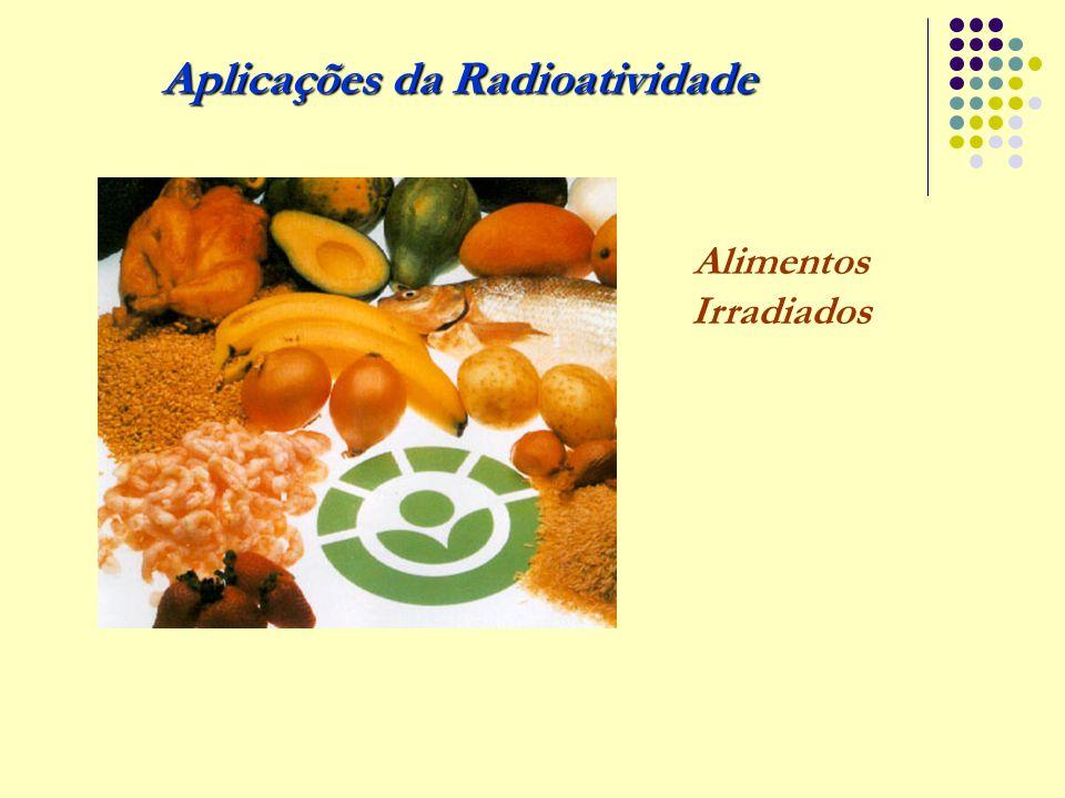 Aplicações da Radioatividade Alimentos Irradiados