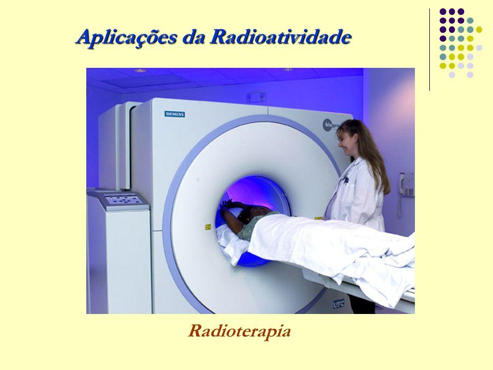 Aplicações da Radioatividade Radioterapia