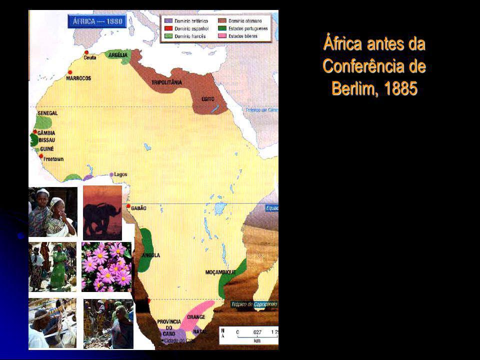 África antes da Conferência de Berlim, 1885