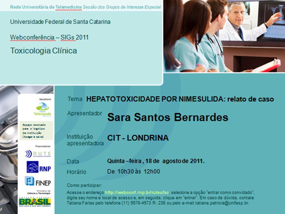 HIVNão reagenteNR Hepatite CNão reagenteNR Hepatite B (HBsAg)Não ReagenteNR Ag.
