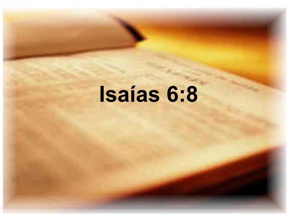 Isaías 6:8