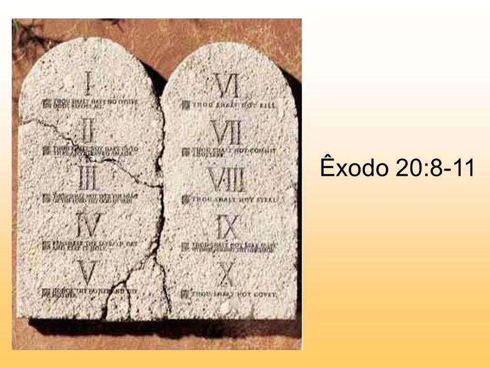 Êxodo 20:8-11