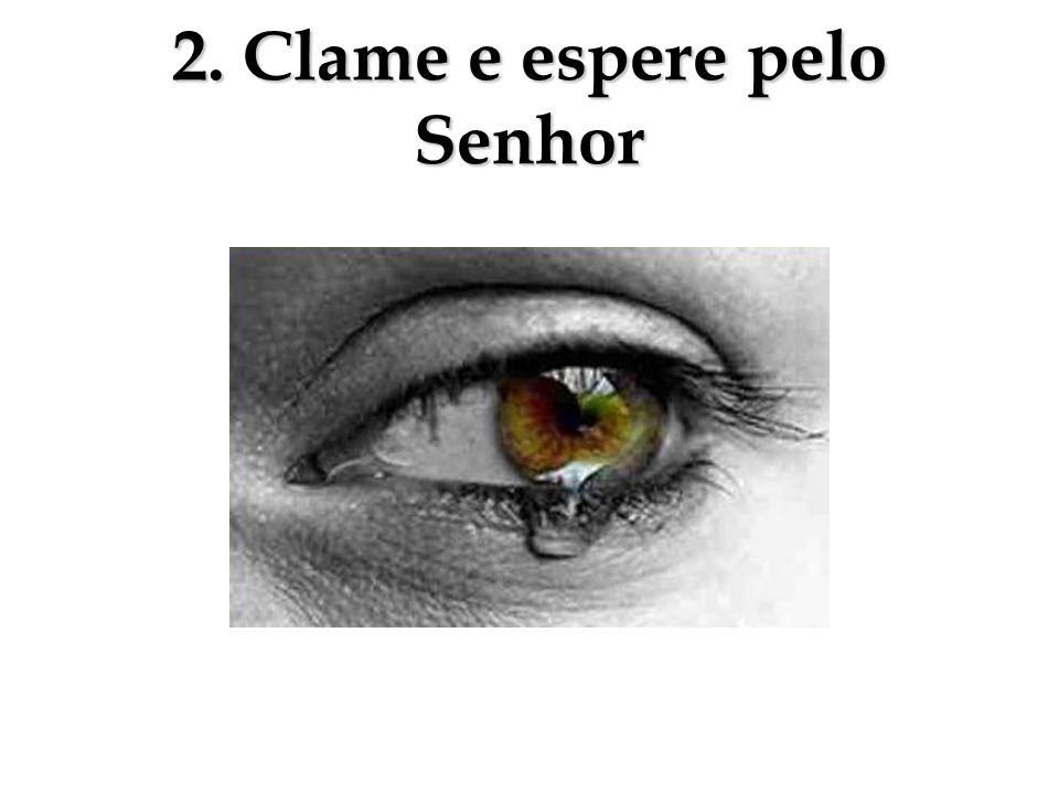 2. Clame e espere pelo Senhor