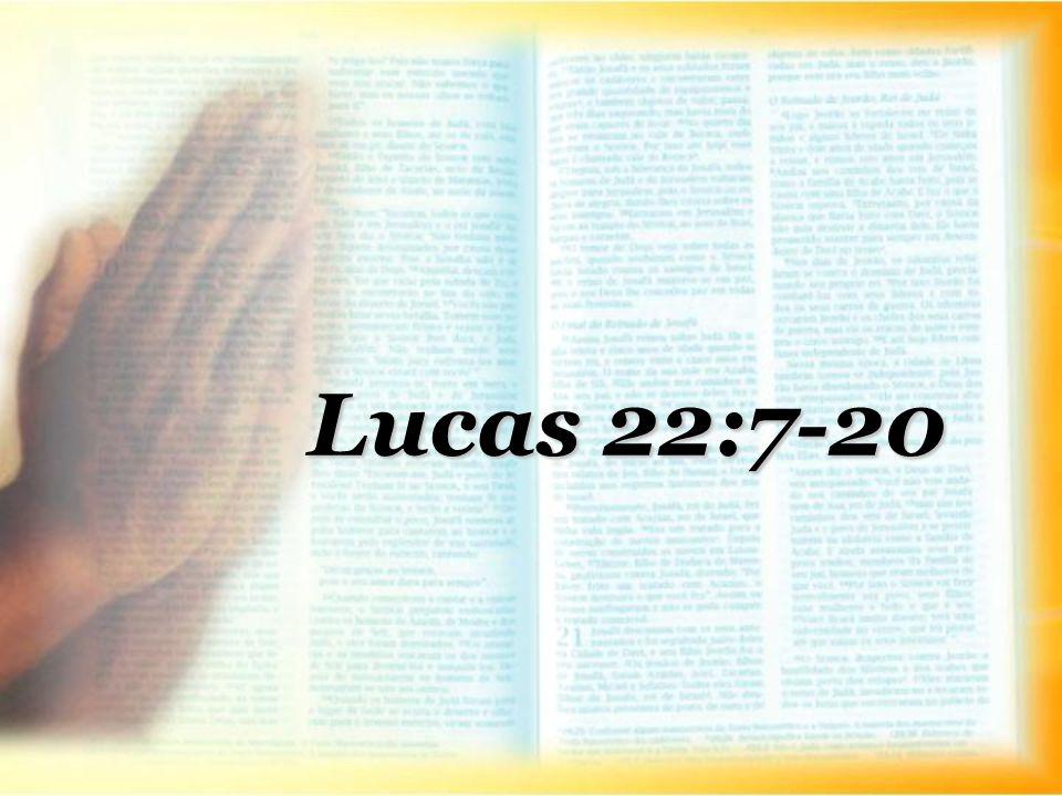 Lucas 22:7-20