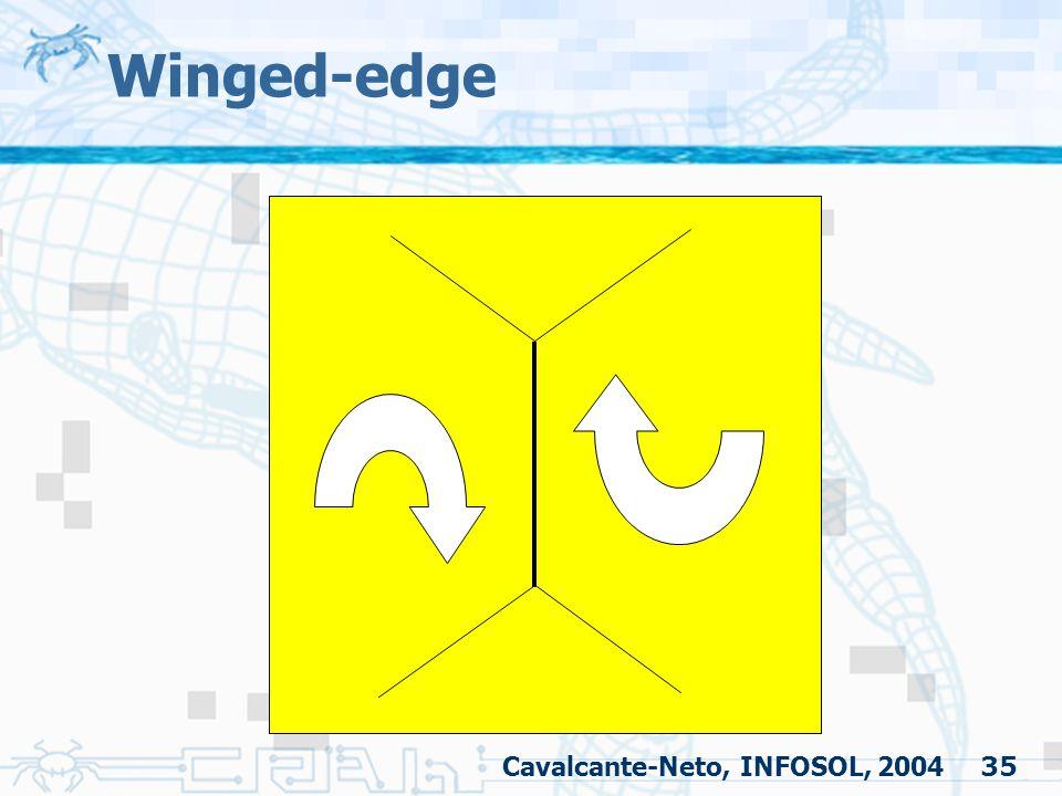 35 Winged-edge Cavalcante-Neto, INFOSOL, 2004