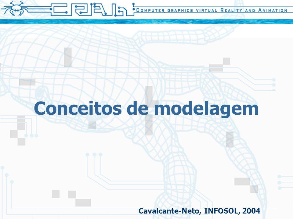 Conceitos de modelagem Cavalcante-Neto, INFOSOL, 2004