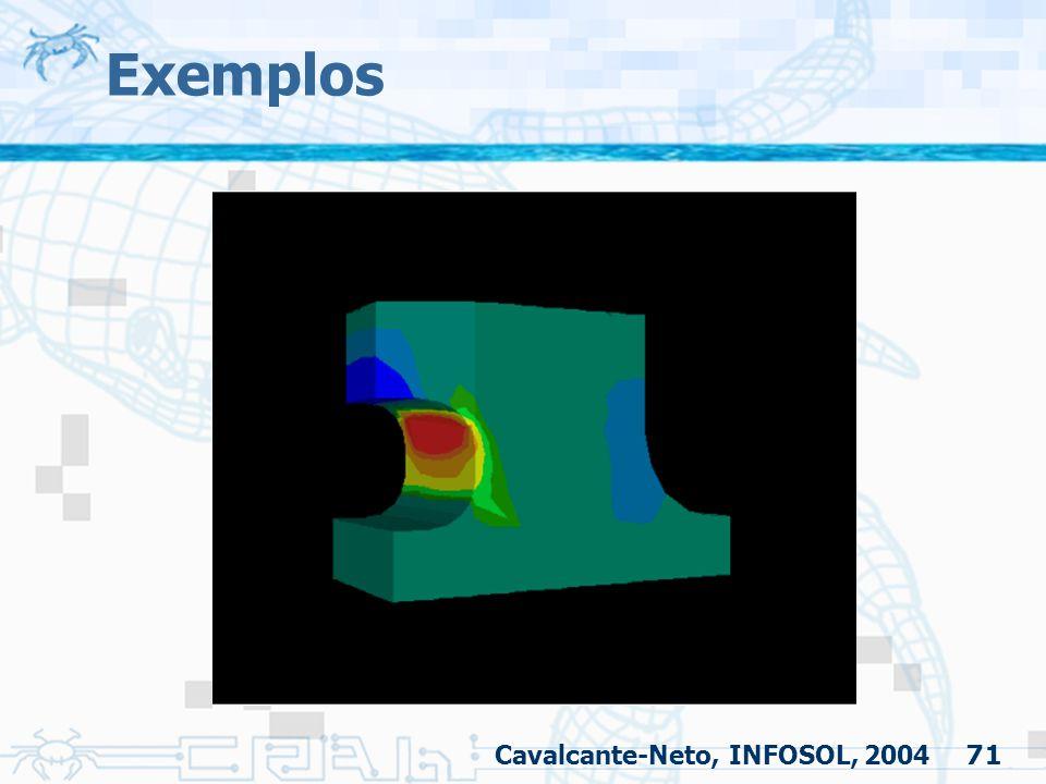 71 Exemplos Cavalcante-Neto, INFOSOL, 2004