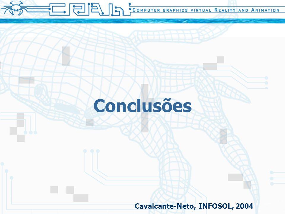 Conclusões Cavalcante-Neto, INFOSOL, 2004