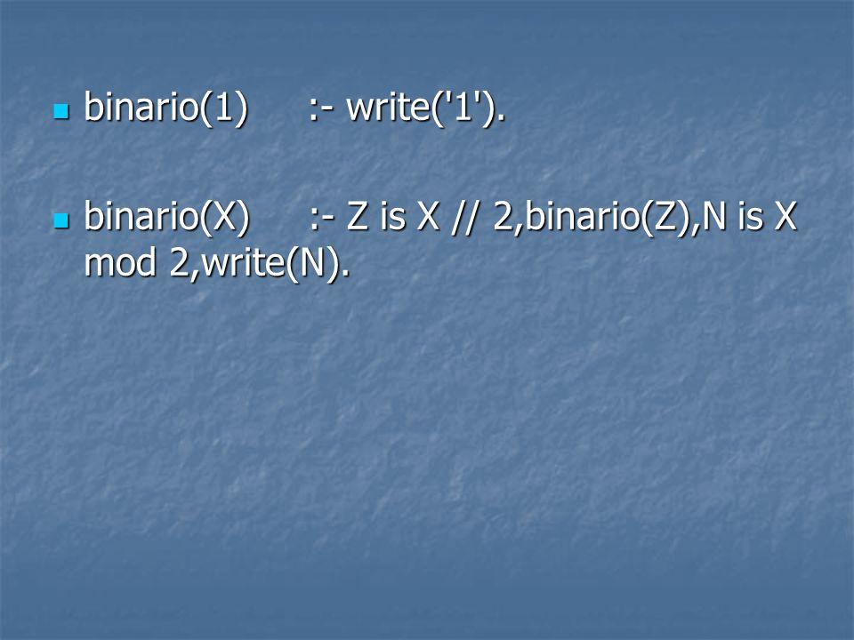 binario(1) :- write( 1 ).binario(1) :- write( 1 ).